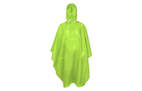 Regenponcho Fast Rider Basic maat: one size lime